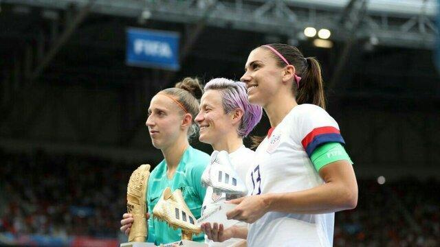 برترین بازیکنان جام جهانی فوتبال زنان ، آمریکا پیشتاز شد