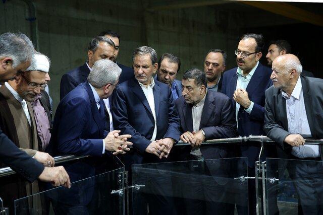 جهانگیری طرح آبرسانی به شهر جهرم را افتتاح کرد