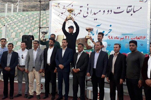 تیم همدان قهرمان مسابقات دوومیدانی جوانان کشور شد
