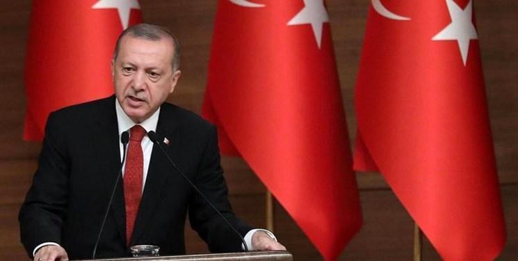 اردوغان: لازم باشد مانند عملیات سال 1974 در قبرس وارد عمل می شویم