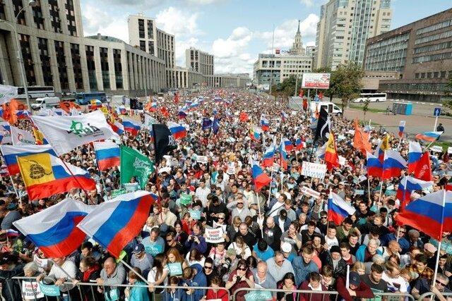 اپوزیسیون روسیه به دنبال برگزاری راهپیمایی بزرگ
