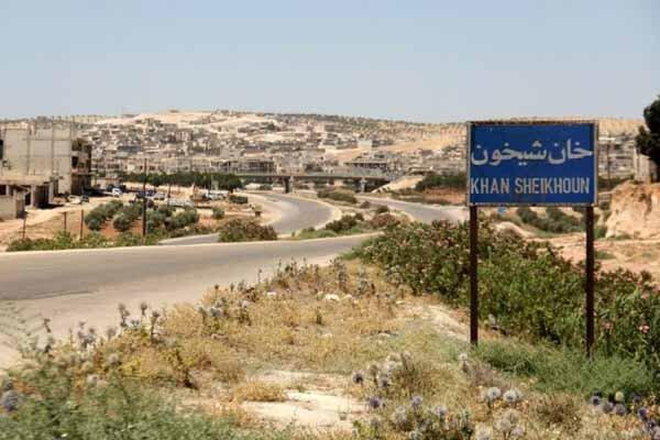 نیروهای ارتش سوریه در 4 کیلومتری شهر راهبردی خان شیخون قرار دارند